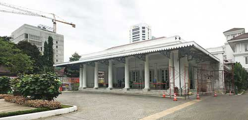 Sejarah Gedung Balaikota Jakarta