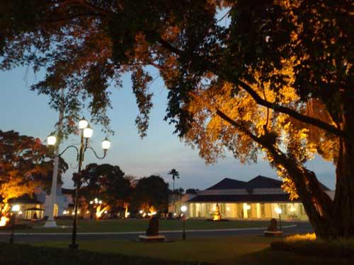 Sejarah Istana Tampaksiring