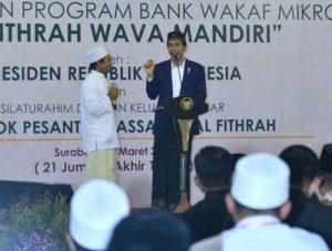 Luncurkan Bank Wakaf Mikro, Solusi Akses Pembiayaan Perbankan