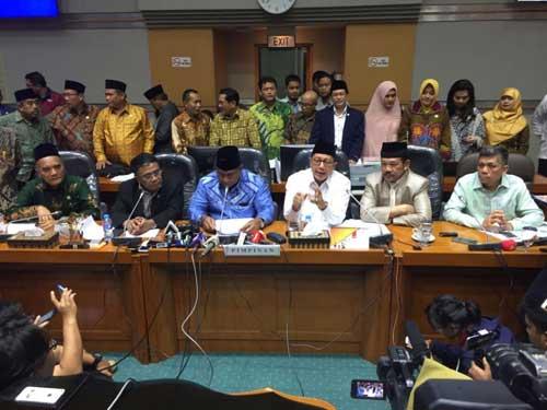 DPR RI – Pemerintah Sepakati Biaya Haji 1439H/2018M