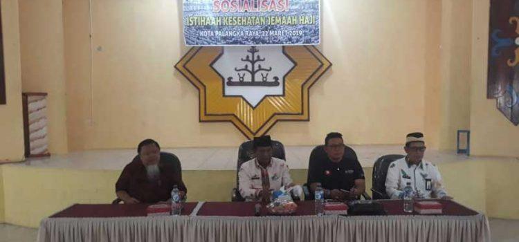 Sosialisasi Kesehatan Haji di Palangkaraya, Kemenkes Hadirkan Komisi IX DPR RI
