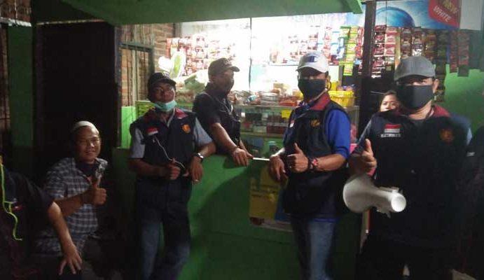 LMK Semanan Gandeng Pengurus Wilayah Imbau Bahaya Covid-19