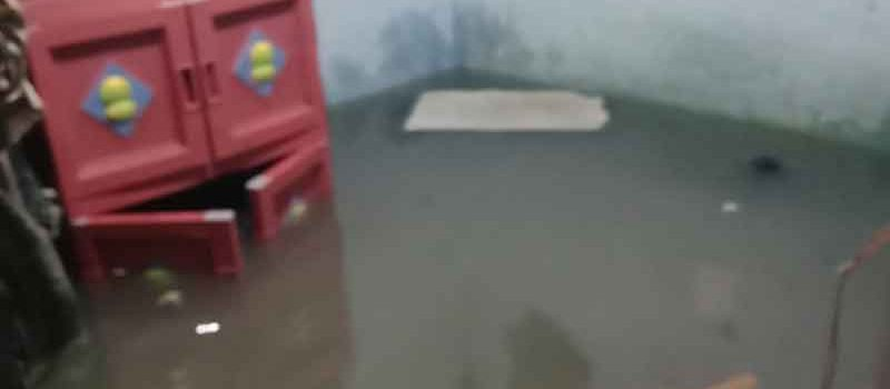 Semanan Kebanjiran Akibat Hujan Semalam